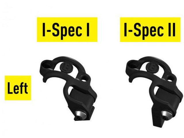 Magura Shiftmix 1 + 2 Klips mocujący do Shimano I-Spec lewe, black